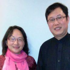 Morning Wang and James Liu