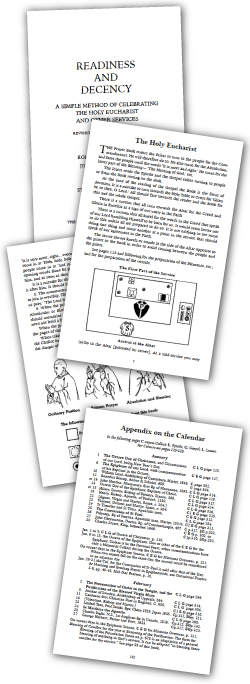 Interior pages from Readiness and Decency